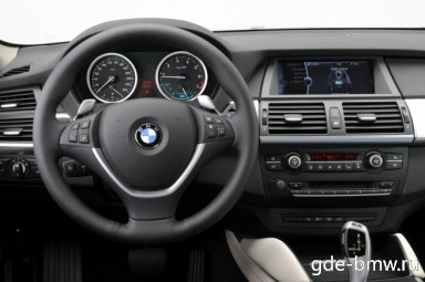 : BMW ActiveHybrid X6 руль