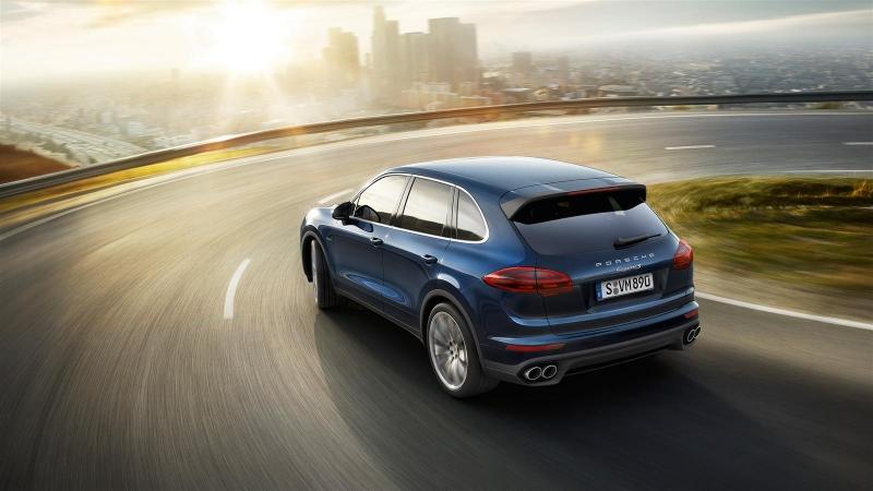 Porsche cayenne s dlina