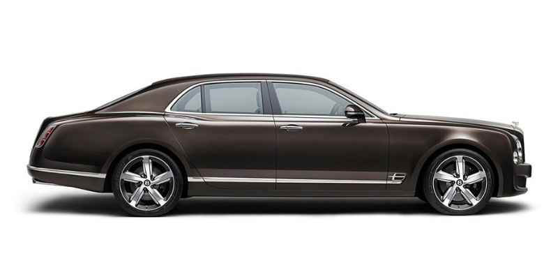 NEW Bentley Mulsanne Speed: справа сбоку