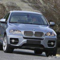 : BMW ActiveHybrid X6 спереди