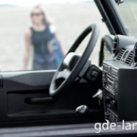 : Land Rover Defender руль
