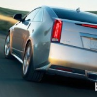 : Cadillac CTS coupe 2012 сзади