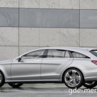: Mercedes CLS Shooting Brake сбоку