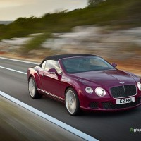 New Bentley Continental GTC Speed спереди: