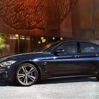 BMW 4ER Grand Coupe: слева сбоку
