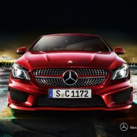 Mercedes CLA-klass sedan: спереди