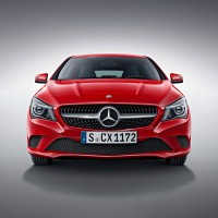Mercedes CLA-klass Shooting Braike: спереди