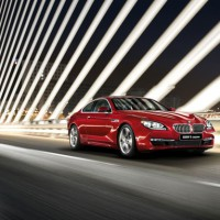 BMW 6ER coupe: спереди справа
