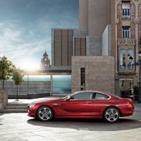 BMW 6ER coupe: слева сбоку