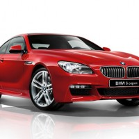 BMW 6ER coupe: справа спереди