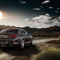BMW 6ER Grand Coupe: сзади справа